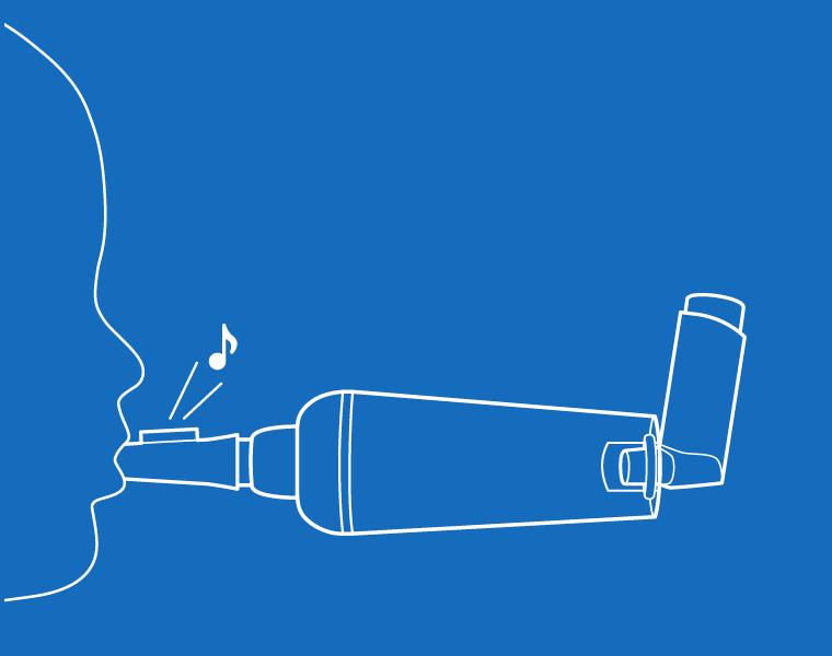 Able Spacer Flo-Tone Coaching Whistle Diagram
