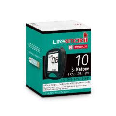 LifeSmart Ketone Test Strips (Pack of 10)