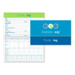Diabete-ezy Diabetes Pump Log Book